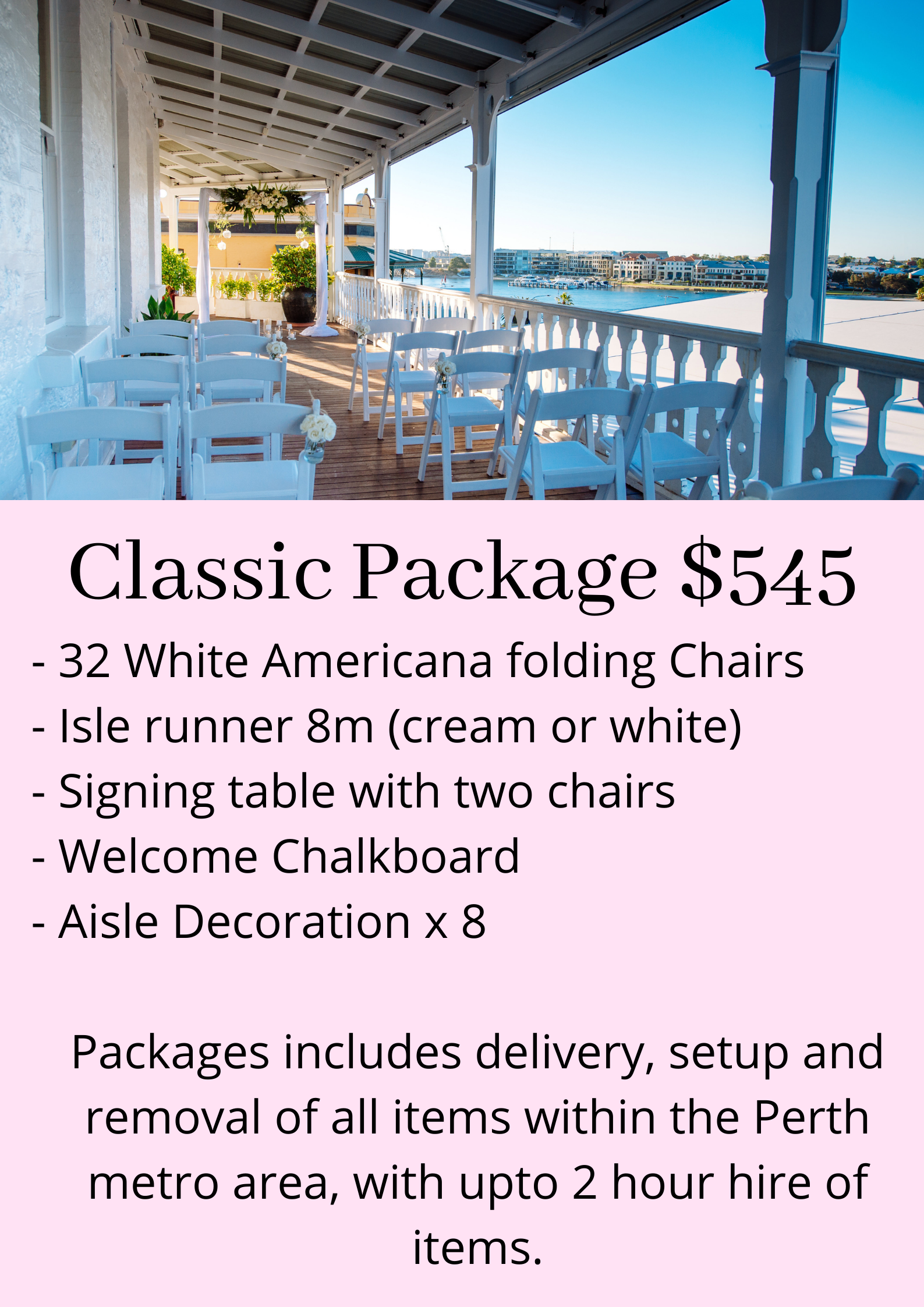 Classic Ceremony Package